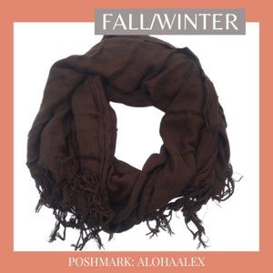 Accessories - BROWN SCARF - FALL/WINTER